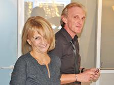 Sylvie Kaminka et Philippe Girard