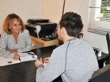 Entre les deux entretiens, l'étudiant revient avec d'autres réflexions et questions.